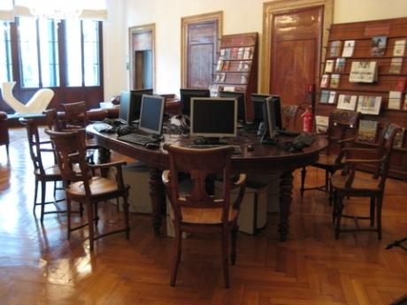 Biblioteca, Sala del Portego
