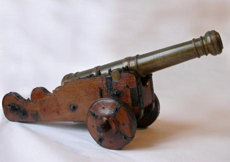 Modello di cannone