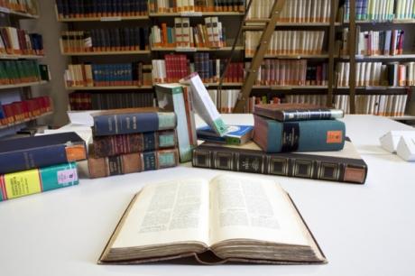 Biblioteca, collezioni librarie