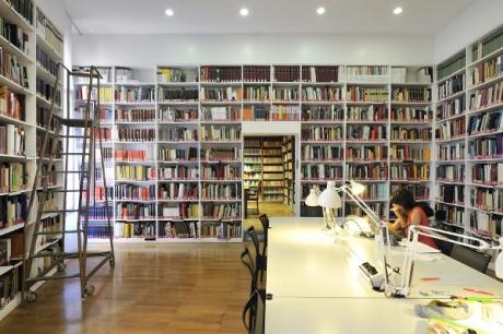 Biblioteca, Sezione Discipline Artistiche