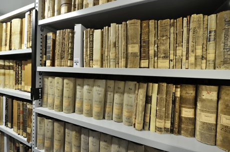 Biblioteca, Deposito librario
