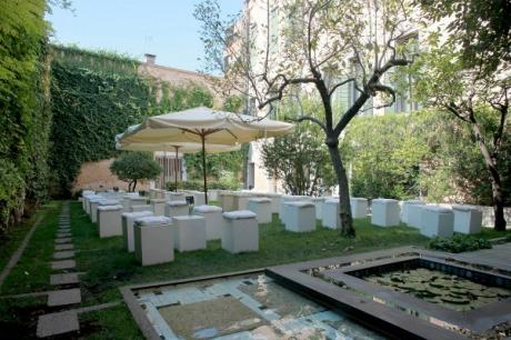 Allestimento in Giardino Carlo Scarpa