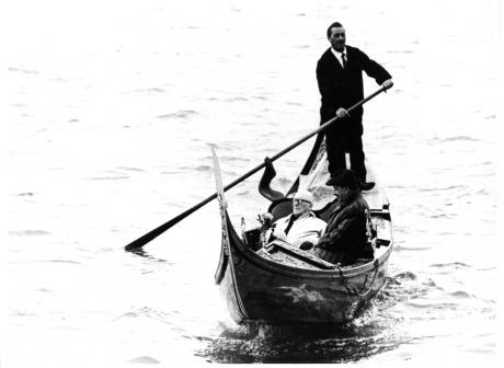 Le Corbusier e Giuseppe Mazzariol, Venezia 1965