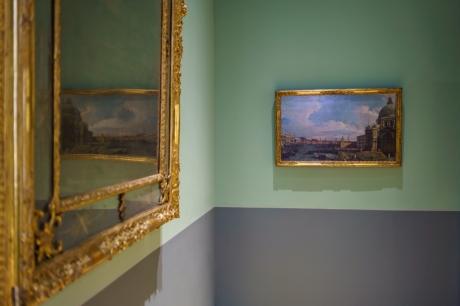 Il Canal Grande verso il Bacino di San Marco, post 1742, olio su tela - Collezione Intesa Sanpaolo