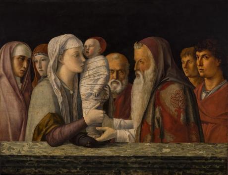 Presentazione di Gesù al Tempio - Giovanni Bellini